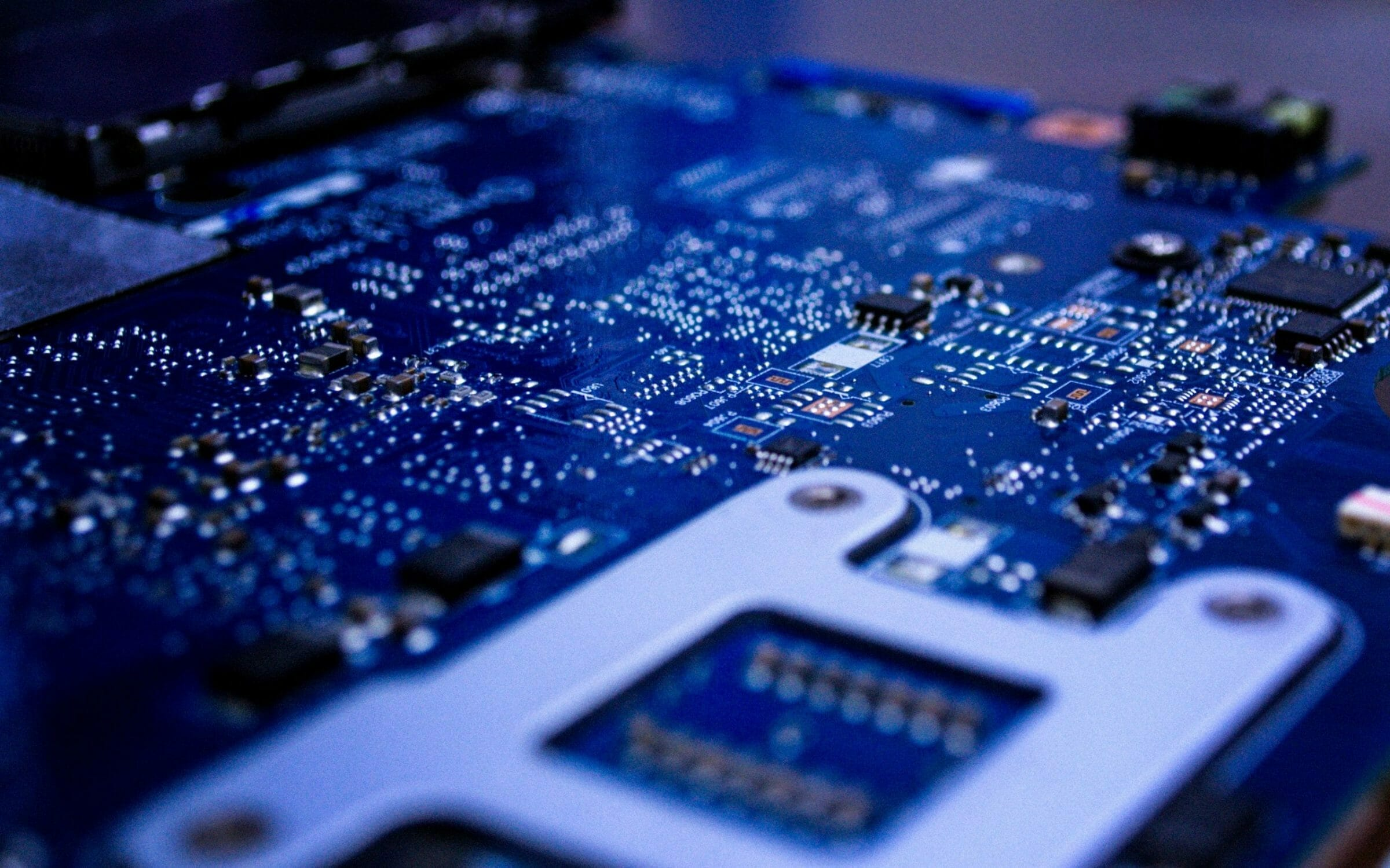 Motherboard, electronic approach circuits technology. Logic board