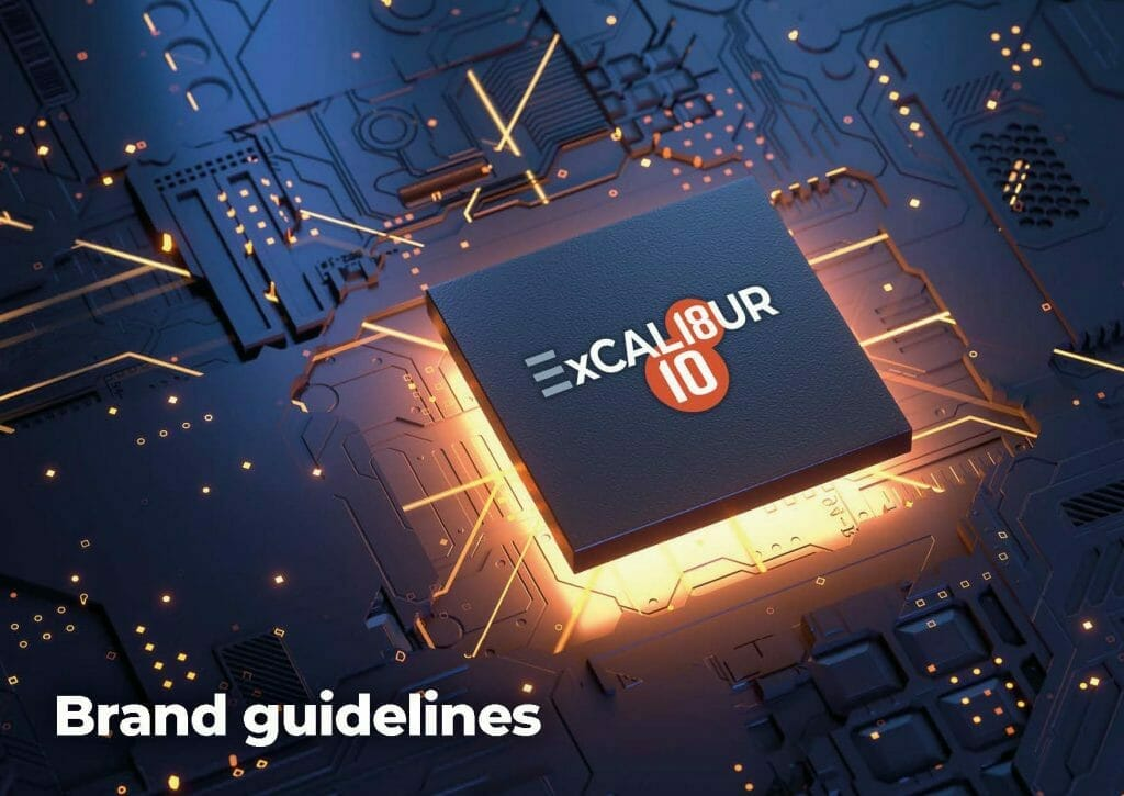 ExCALIBUR Brand Guidelines Cover